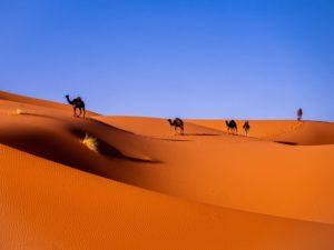 Morocco landmarks.