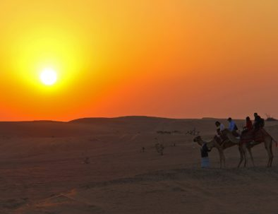 Sunset from our tour of Fes desert tours