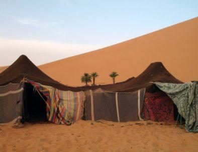 glamping in Merzouga desert