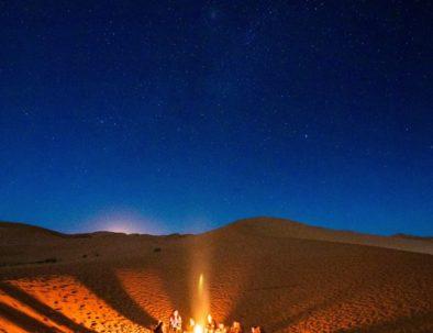 Overnight in Merzouga luxury camp